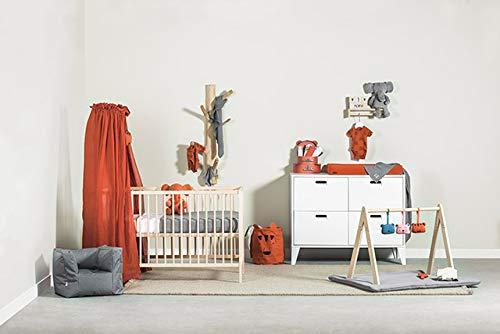 Jollein 002-001-65315 Vintage Betthimmel rostrot orange 155x280 cm