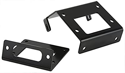 VIPER 2015-2016 Honda Rubicon TRX 500 4x4 Winch Mount Plate Kit