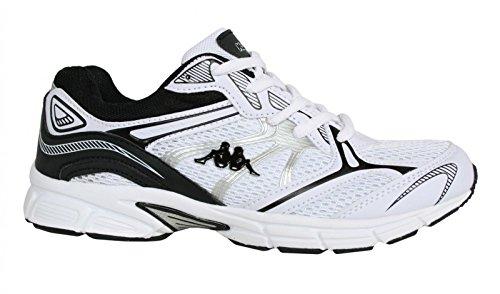 Chaussures de sport pour Homme et Femme KAPPA 30257K0 PAPINO 910 WHITE-BLACK