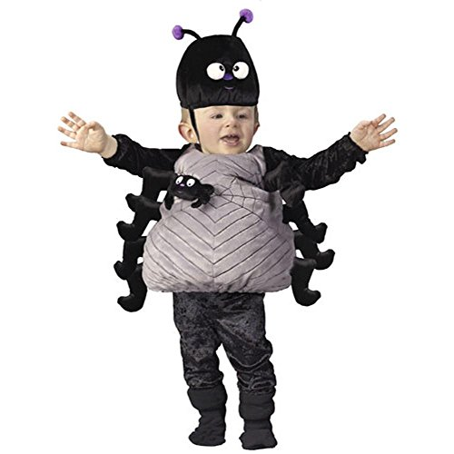 Halloween 24 Size Costumes (Infant Toddler Black Spider Halloween Costume (Size)