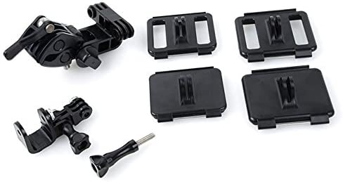 Electronics Accessory Kits HR259 Universal Retaining Clip Mount Set for GoPro Hero 4//3+ 3//2 1