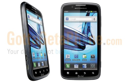 Motorola Atrix 2 4G MB865 Black AT&T [Non-retail Packaging] Unlocked