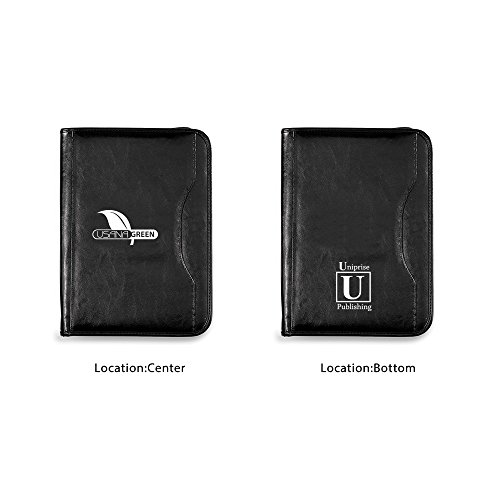 Wall Street Padfolio - 13 Quantity - $20.50 Each - BRANDED / DEBOSS PRINT with YOUR LOGO / CUSTOMIZED by Sunrise Identity
