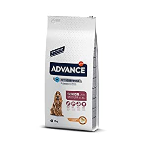 ADVANCE Senior Medium – Pienso Para Perros Senior De Razas Medianas Con Pollo – 12 kg