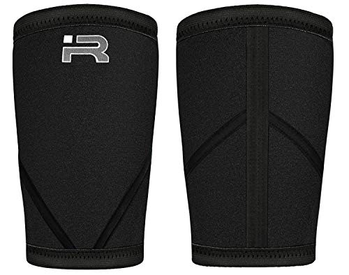 ae696a7152 Iron Rebel Knee Sleeves XS - 4XL Black Performance Compression Sleeves for  Powerlifting, Bodybuilding,