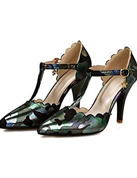 ZQ Zapatos de mujer-Tac¨®n Stiletto-Tacones-Tacones-Boda