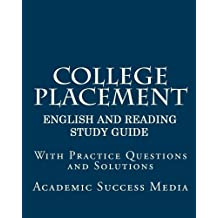 College Placement Test English and Reading Study Guide (College Placement Test Study Guide Book 1)