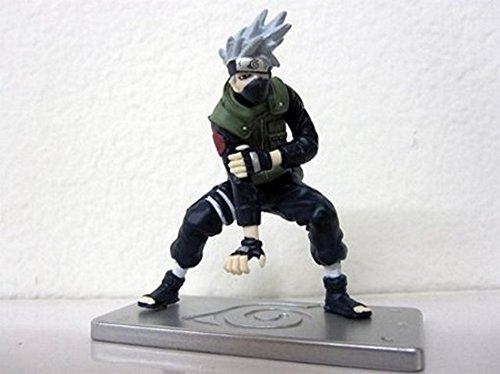 Naruto: Kakashi Figure (Lightning Blade Stance) with Hidden Leaf Display Base