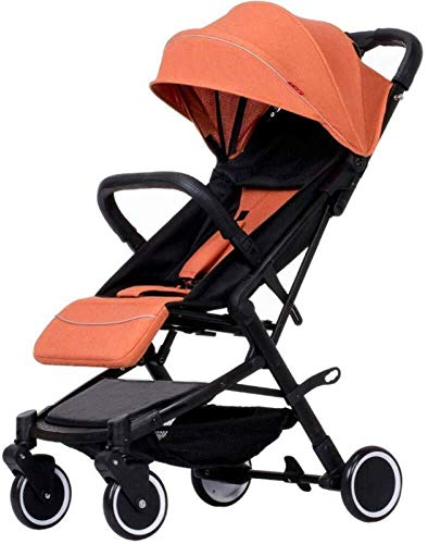 Baby Stroller Folding Pushchair Lightweight Infant Travel Buggy from Birth to 15 Kg Buggy,40x100cm yangmi (Color…