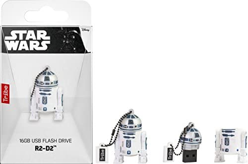 Tribe Disney Star Wars R2F2 - Memoria USB 2.0 de 16 GB Pendrive ...