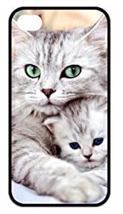 Great iPhone 4,4s Cases Cat Family Back Covers Durable Case