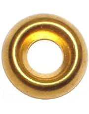 Hard-to-Find Fastener 014973436605 Finishing Washer Brass, 8, Piece-160