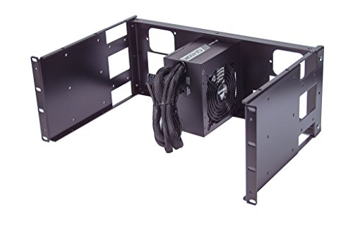 "4U Rackmount ATX PS2 Power Supply mounting panel for 19"" rackmount cabinet (Power supply not included)"