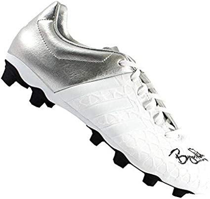 Bryan Robson Signed Adidas Football