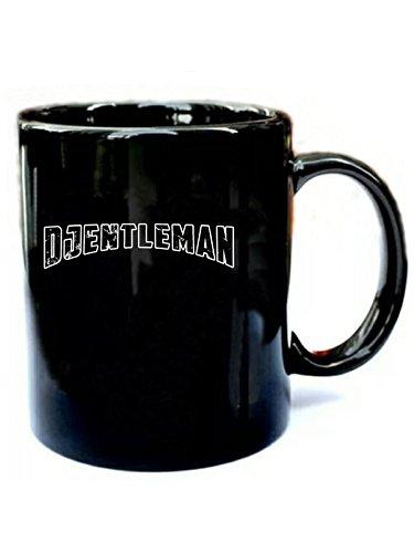 (Djentleman Heavy Metal - Funny Gift Black 11oz Ceramic Coffee Mug)