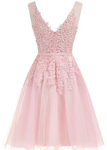 Partykleid Lila 80603 CXRK80603 Cocktailkleid für Ballkleid Tüll Abendkleider Damen Hochzeit Prinzessin kurz Clearbridal nxvqSPA8wx