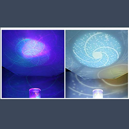Adoeve Portable Beautiful LED Projection Lamp Party Decoration Lamp Night Lights (Type6)