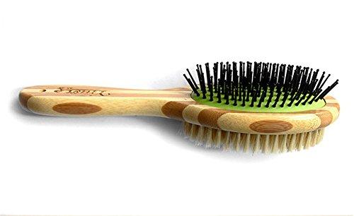 Medium Soft Slicker (SINDBIN Bristle and Soft Slicker Pet Brush,Cat Brush & Dog Brush for Short Medium or Long Hair, Pet Grooming Naturally)