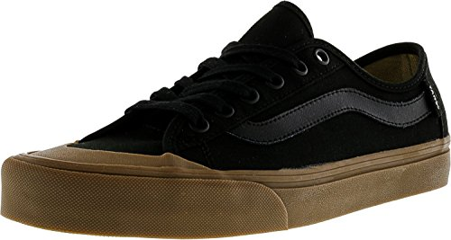 Vans Black Ball SF Whit Round Toe Synthetic Sneakers Black / Gum xiPbR