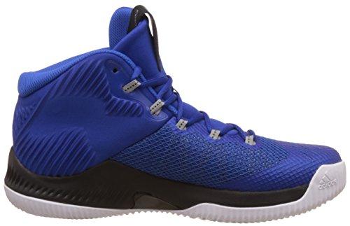 Adidas Crazy Hustle, Scarpe da Basket Uomo, Blu (Reauni/Plamet/Azul), 47 EU