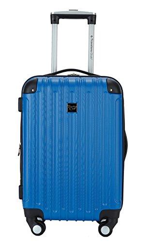 Travelers Club 20 Polaris Metallic Accented Hardside Expandable Carry-On Luggage Travelers Club Luggage HS-67220M-SV
