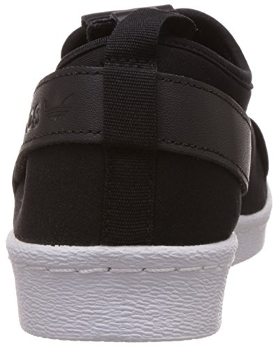 Eu Femme On 1 Slip Adidas Black Baskets Noir Mode 43 Superstar 3 q1Pt4wx7
