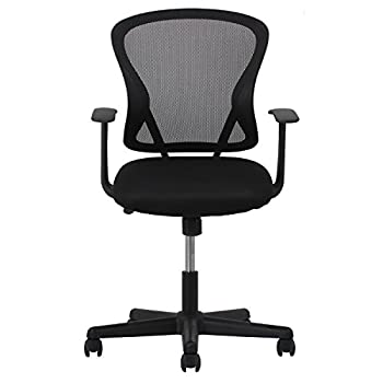 Essentials Swivel Mesh Task Chair With Arms - Ergonomic Computeroffice Chair (Ess-3011) 1