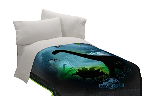 Universal Jurassic Perfect World Twin Comforter - Dinosaur Twin Comforter