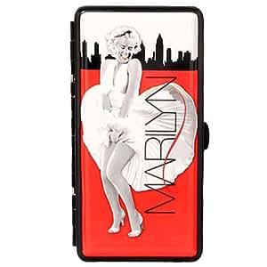 Pitillera con espejo para 14 cigarros, diseño de Marilyn Monroe