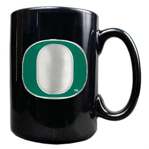 (GAP Oregon Ducks 15oz Black Ceramic Mug)