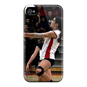 Anti-Scratch Cell-phone Hard Cover For Iphone 4/4s (nYE12735KQFg) Support Personal Customs Beautiful Rise Against Series