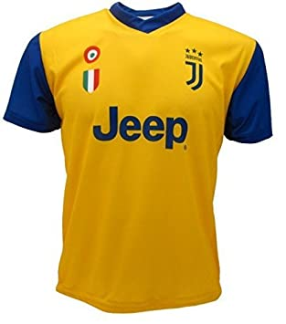 Juventus F.C. YELLOW JERSEY DYBALA 10 JUVENTUS OFFICIAL REPLICA 2017-18  child adult man JUVE b4f5c9756