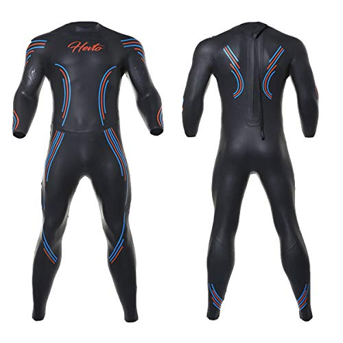 Nataly Osmann 3mm Triathlon Wetsuit Long Sleeved Piece Yamamoto Low Resistance Keep Warm Buoyancy Cold-Proof Swimsuit ()