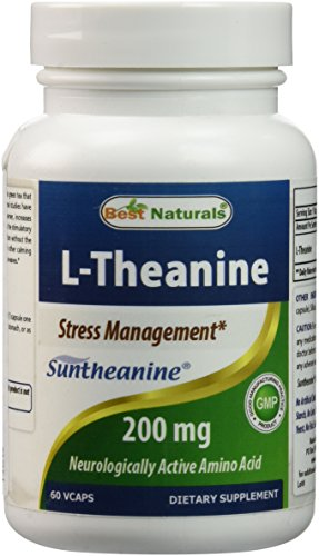 Best Naturals L Theanine clinically suntheanine