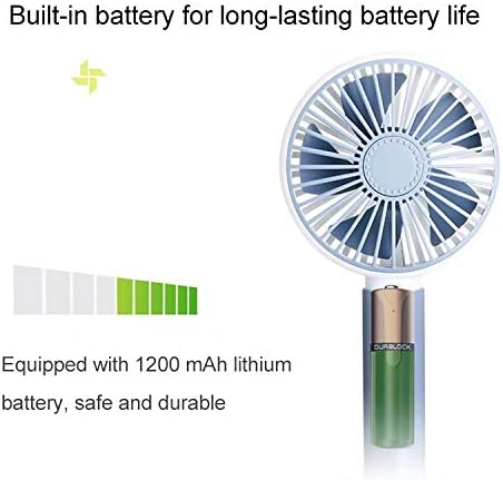 Pink Color : Grey CellphoneMall USB Desk Personal Fan Mini DC 5V USB Rechargeable Aromatherapy Cooling Handheld Fan 3 Speeds
