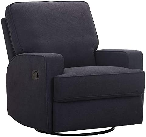 Amazon Brand Ravenna Home Contemporary Swivel Glider Recliner Chair