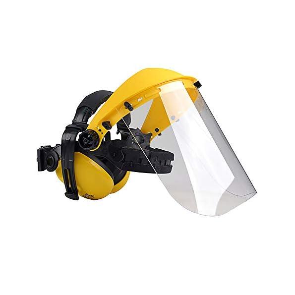 Oregon-Q515062-Polycarbonat-Visier-Gesichts-und-Gehrschutz-Kombination-fr-Trimmer-und-Freischneider