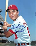 Tony Perez signed Cincinnati Reds 11x14 Photo HOF 2000 (bat on shoulder) - Autographed MLB Photos
