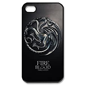 Custom Your Own Game of Thrones iPhone 4/4S Case , personalised Game of Thrones Iphone 4 Cover