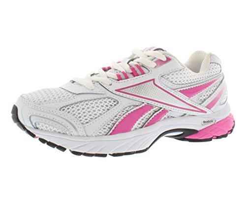 Reebok Footwear Womens Pheehan Running Shoe,Pink Ribbon/White/Dynamic Pink/Steel/Black,5.5 D US