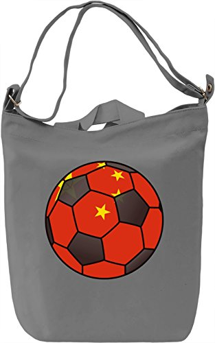 China Football Borsa Giornaliera Canvas Canvas Day Bag  100% Premium Cotton Canvas  DTG Printing 