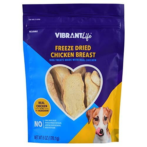 - Vibrant Life Freeze Dried Chicken Breast (6oz)