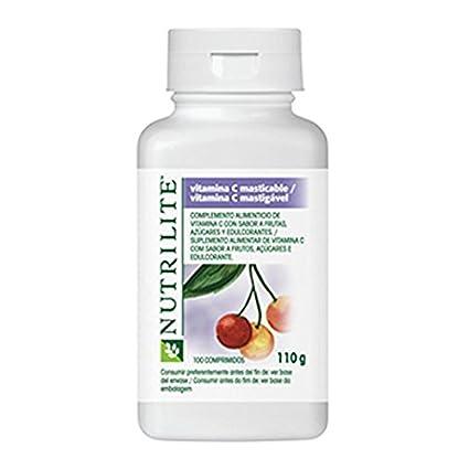 Vitamina C Masticable de NUTRILITE para niños - Cada comprimido de vitamina C Masticable NUTRILITE contiene
