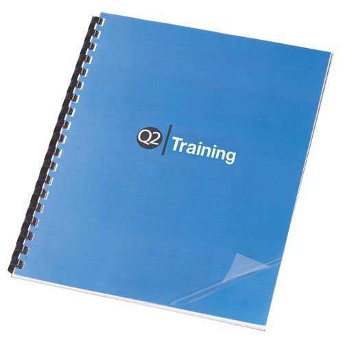 TruBind 5 Mil 8-1/2 x 11 Inches PVC Binding Covers - Pack of 100, Clear (CVR-05ASN) Size: 5 Mil, Model: CVR-05ASN, Office/School Supply Store
