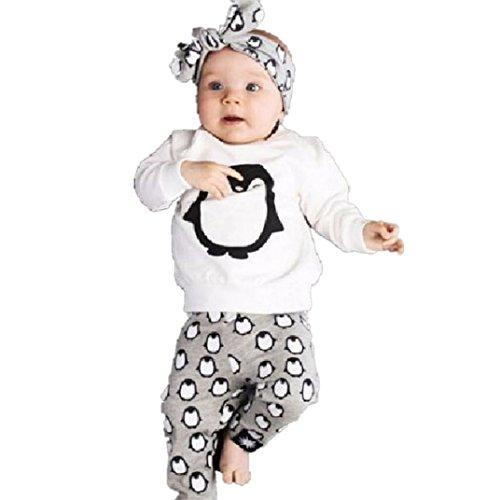 Ecosin Children Clothing Penguin Sleeve