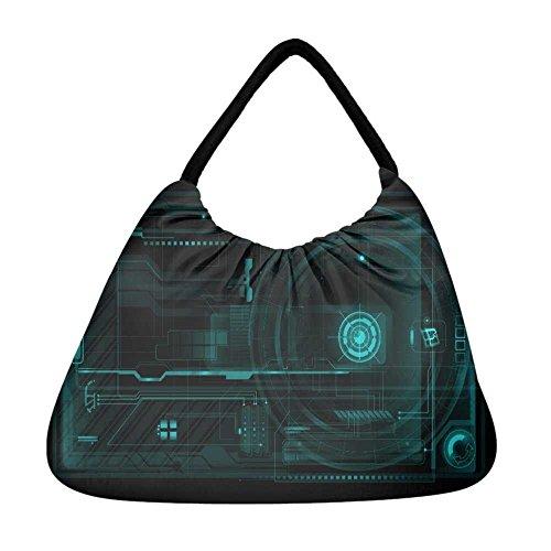 Strandtasche Damen mehrfarbig Snoogg mehrfarbig Snoogg Damen Strandtasche mehrfarbig qgwRX5S5