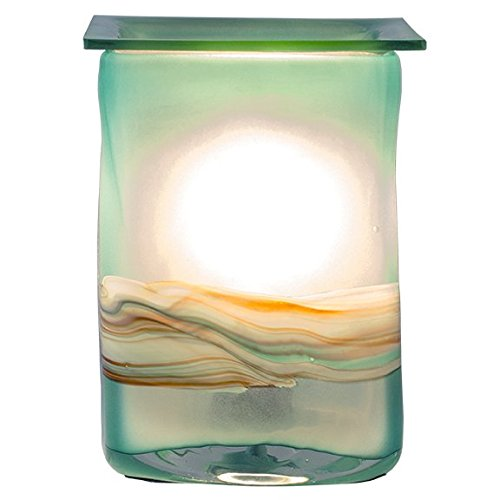 Wax Warmer - Hand Made Art Glass - Air Freshner (Allure)