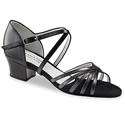 "Anna Kern Women's Model 581 - 1 1/2"" (3.5 cm) Cuban Heel"
