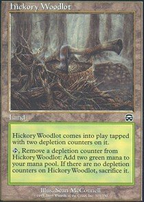 - Magic: the Gathering - Hickory Woodlot - Mercadian Masques - Foil