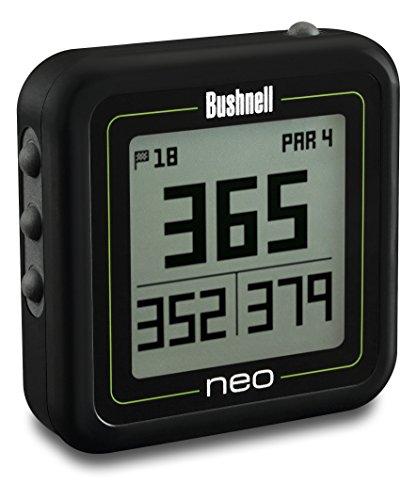 Bushnell 368220 Bushnell NEO Ghost Golf GPS/Rangefinder, Black (Best Golf Gps Under $100)